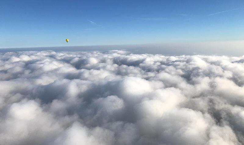 Über den Wolken…