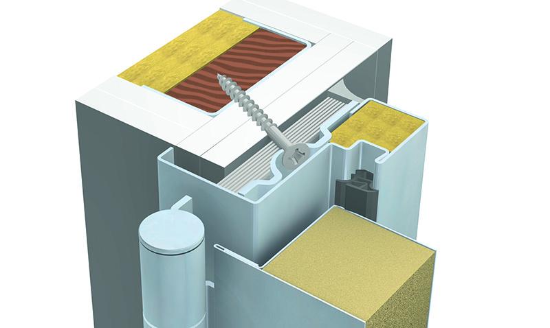 Die Baumeister-Tür für jedes Wandsystem zugelassen!
