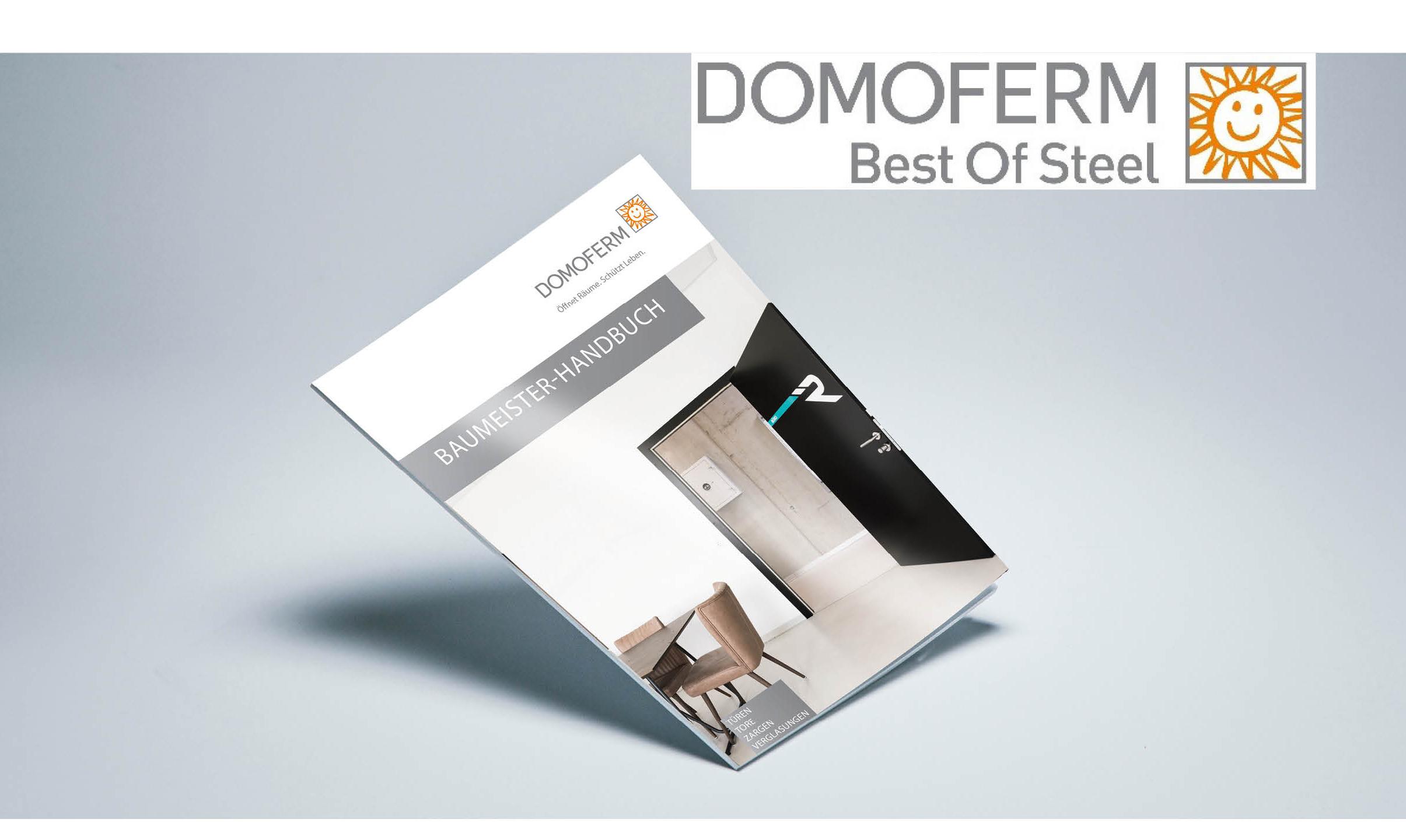 Jetzt Neu! Das DOMOFERM Baumeister-Handbuch ist eingetroffen