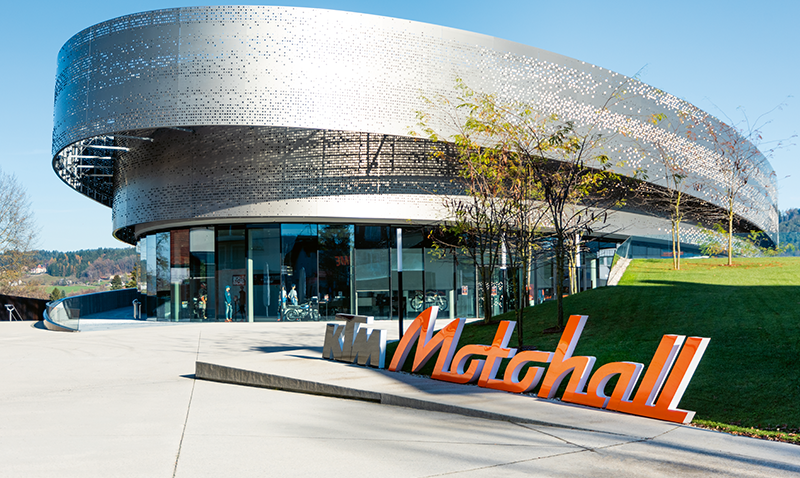 Projektpartner KTM Motohall