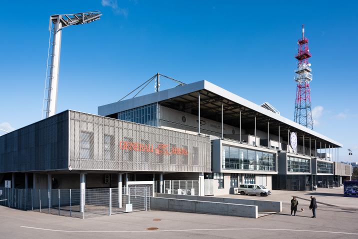 Stahltüren von DOMOFERM in der Generali Arena
